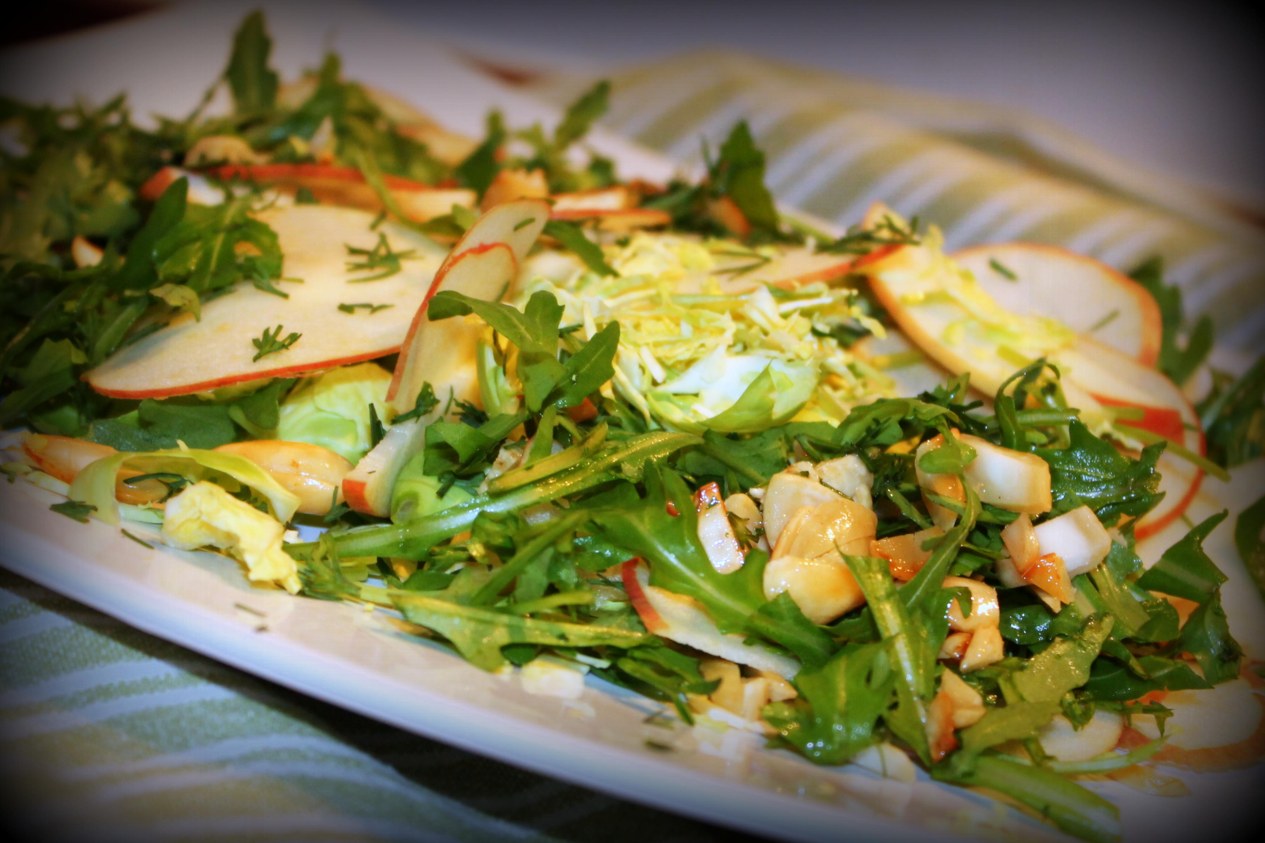 salat af rosenkaal