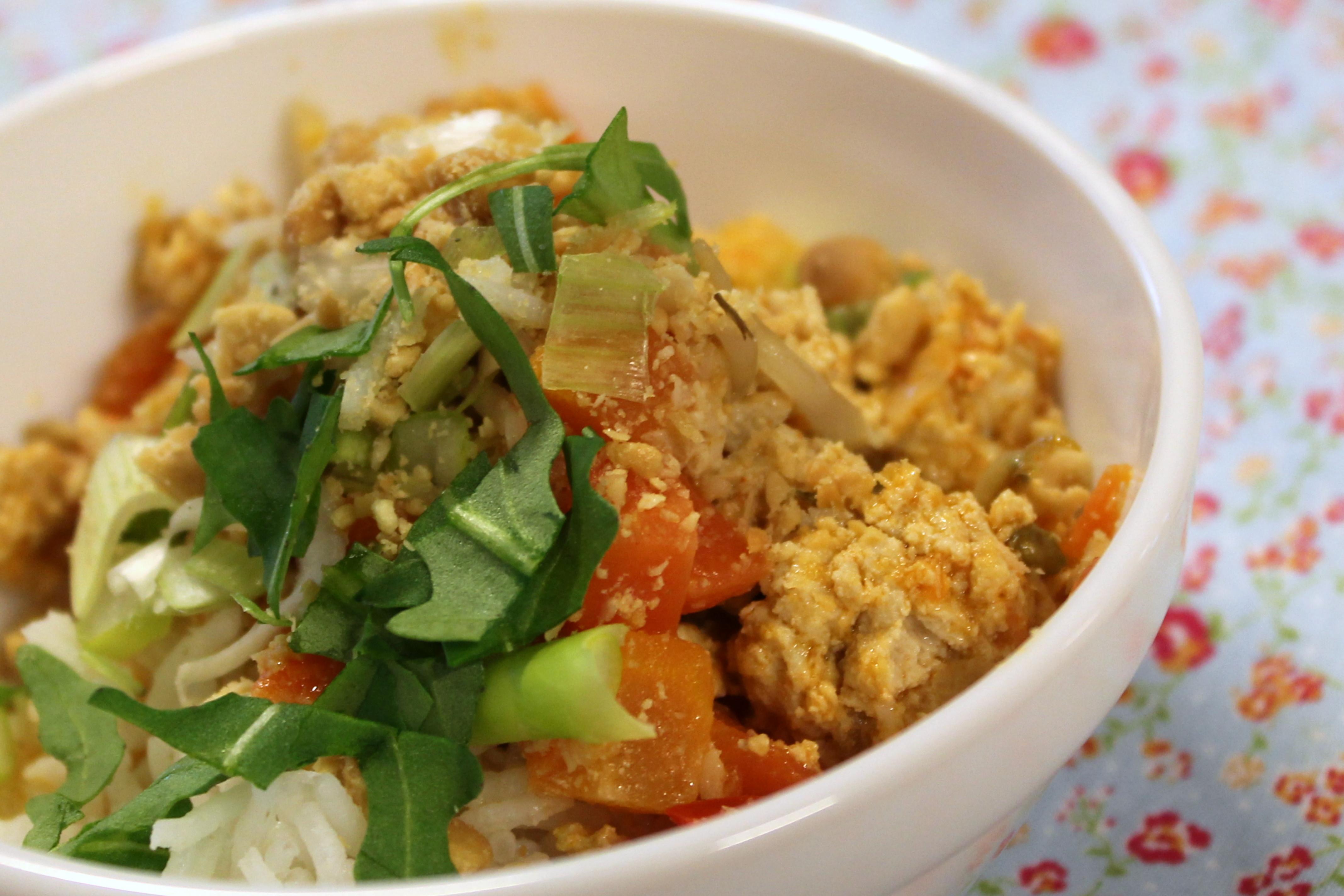 Thai bolognese .......med ris