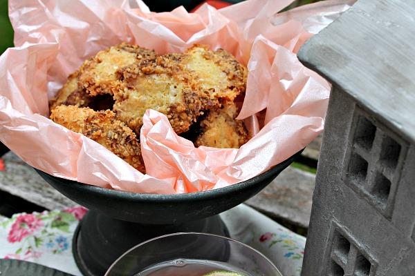 Cookies med blåskimmelost og valnødder