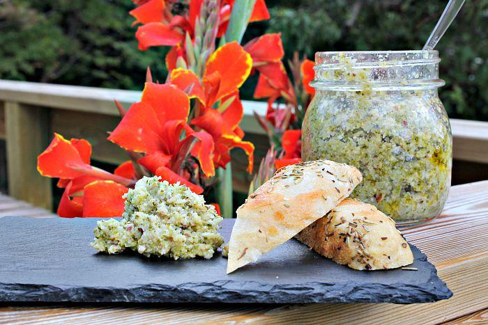 Broccoli dip - smør pålæg
