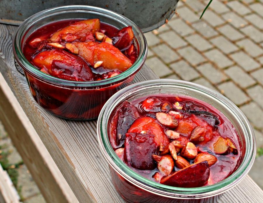 chutney med ingefær,chili og mandler